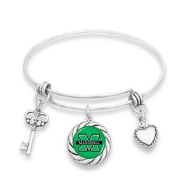 Marshall University Rope Bangle