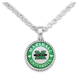 Marshall University Stuck On You Necklace