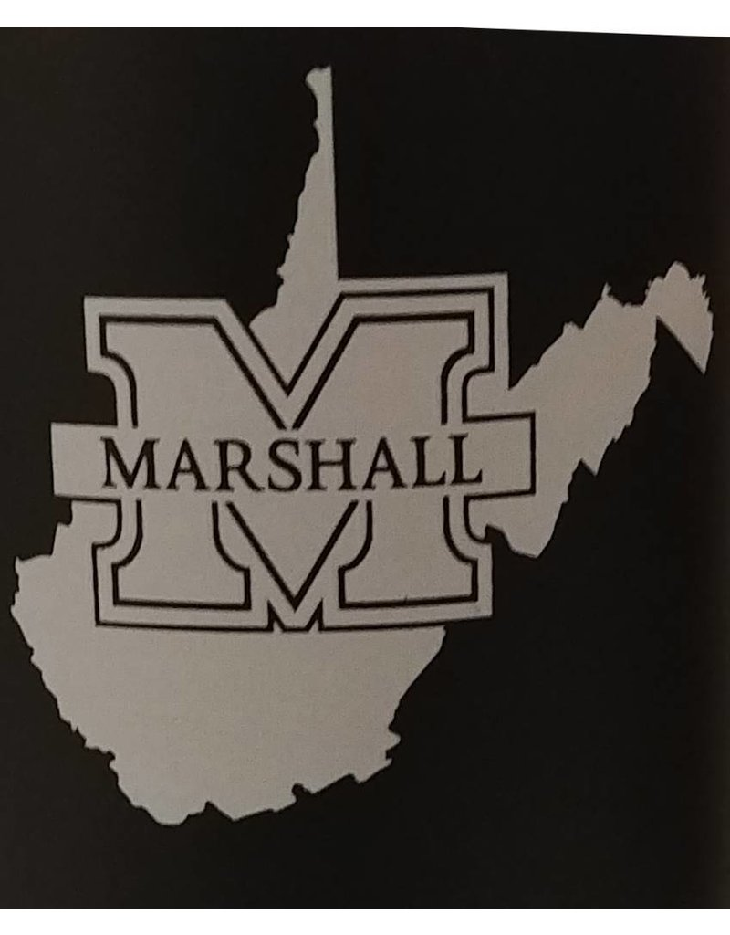 Marshall University Travel Map Tumbler