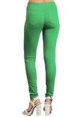 Misses Green Jegging