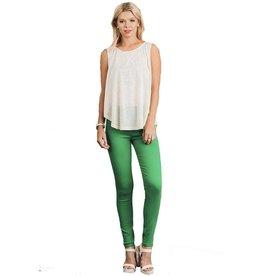Misses Green Jegging
