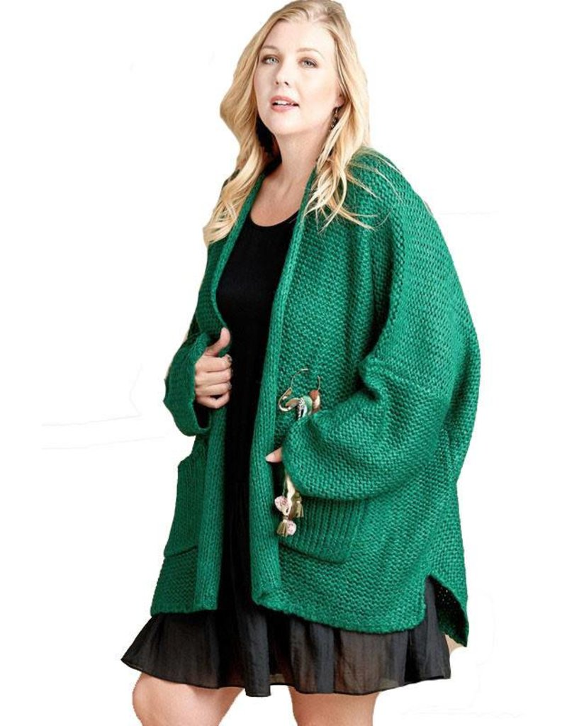 Chunky Knit Oversize Cardigan