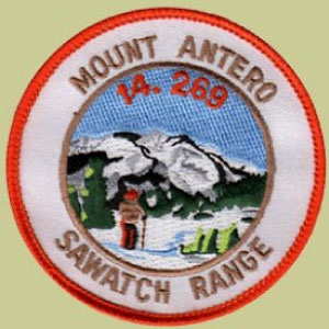 PATCH WORKS Mount Antero Patch