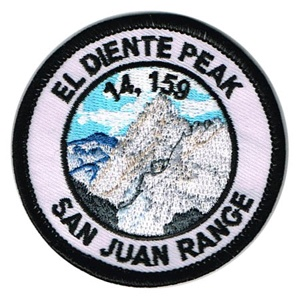 PATCH WORKS El Diente Peak Patch