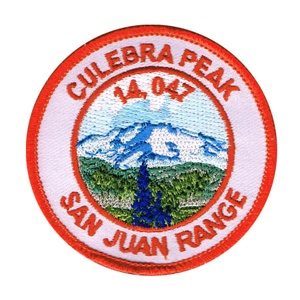 PATCH WORKS Culebra Peak Patch