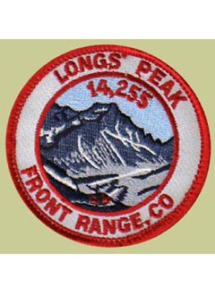 PATCH WORKS Longs Peak Patch