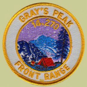 PATCH WORKS Grays Peak Patch