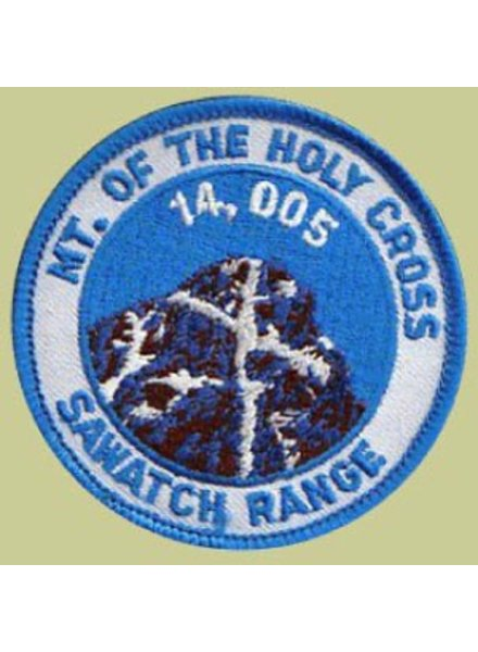 PATCH WORKS Mount of the Holy Cross Patch