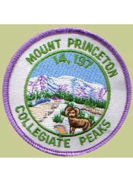 PATCH WORKS Mount Princeton Patch