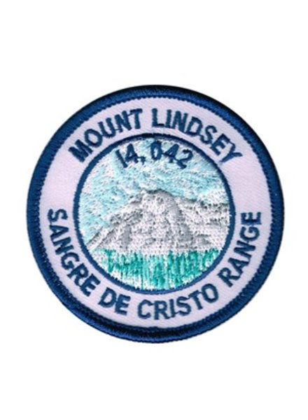PATCH WORKS Mount Lindsey Patch