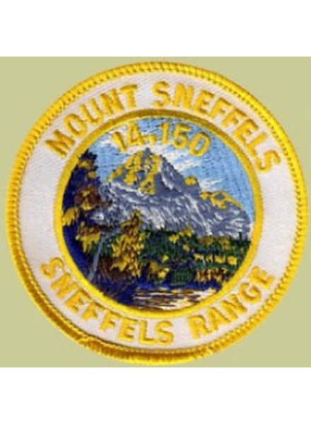 PATCH WORKS Mount Sneffels Patch