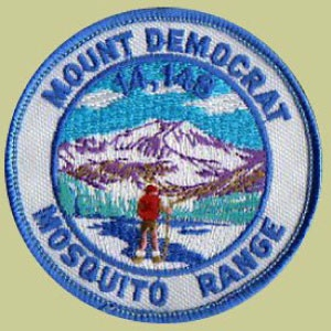 PATCH WORKS Mount Democrat Patch