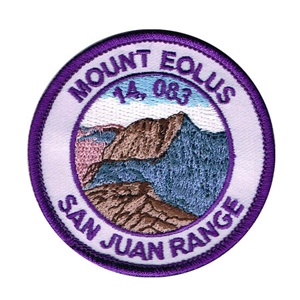PATCH WORKS Mount Eolus Patch