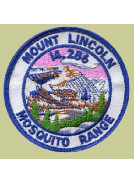PATCH WORKS Mount Lincoln Patch