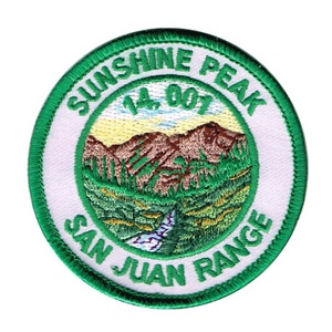 PATCH WORKS Sunshine Peak Patch