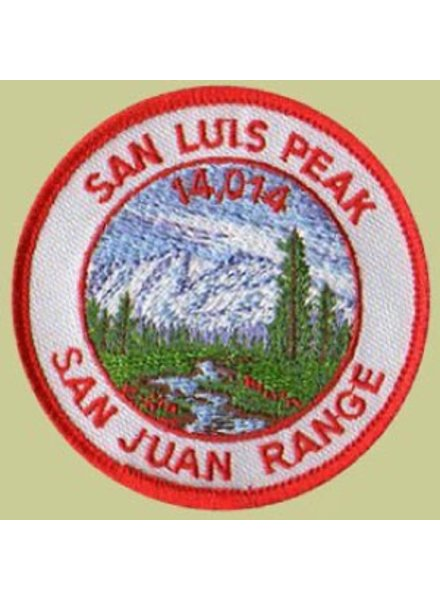 PATCH WORKS San Luis Peak Patch