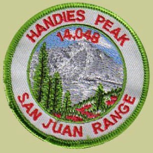 PATCH WORKS Handies Peak Patch