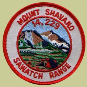 PATCH WORKS Mount Shavano Patch