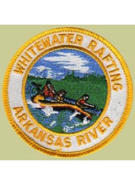 PATCH WORKS Whitewater Rafting Arkansas River Patch