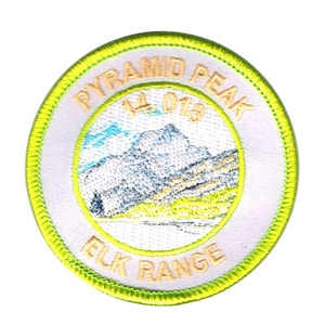 PATCH WORKS Pyramid Peak Patch