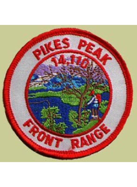 PATCH WORKS Pikes Peak Patch