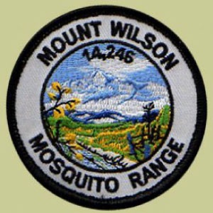 PATCH WORKS Mount Wilson Patch