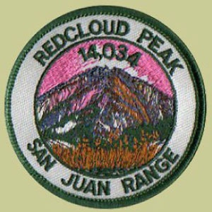 PATCH WORKS Redcloud Peak Patch