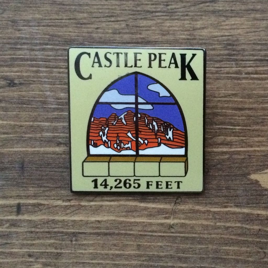 TOPP Castle Peak Pin