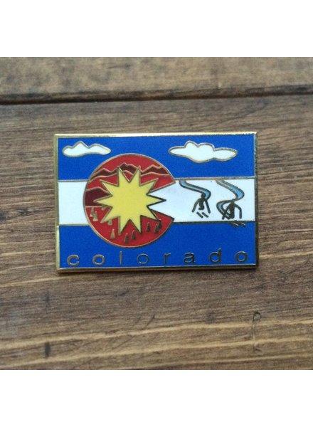 TOPP Colorado Flag Pin