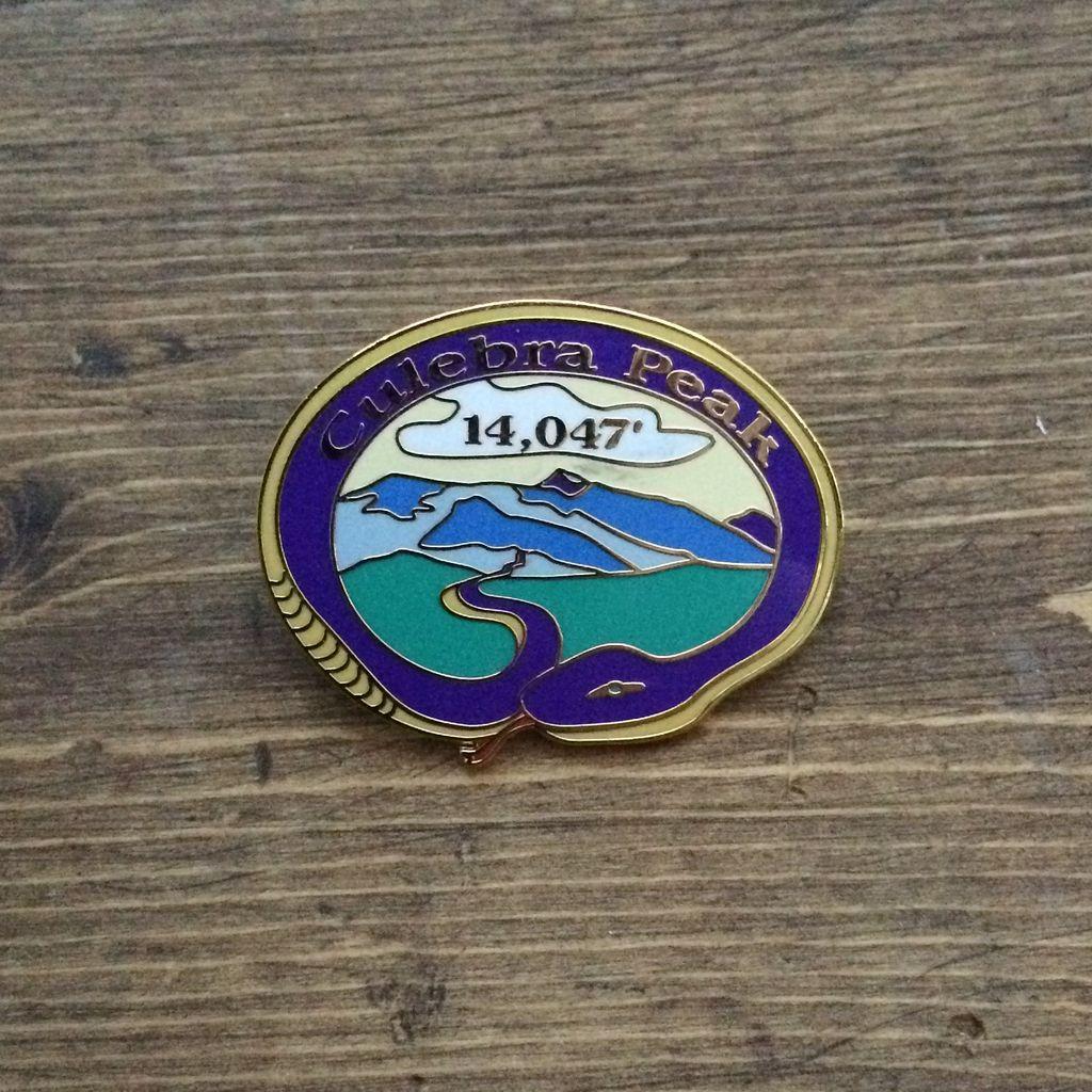 TOPP Culebra Peak Pin