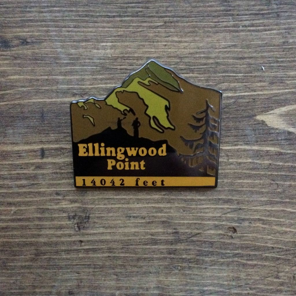 TOPP Ellingwood Peak Pin