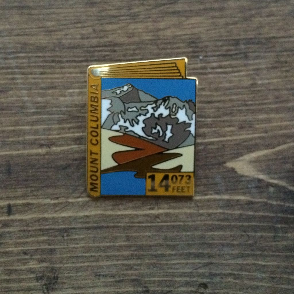 TOPP Mount Columbia Pin