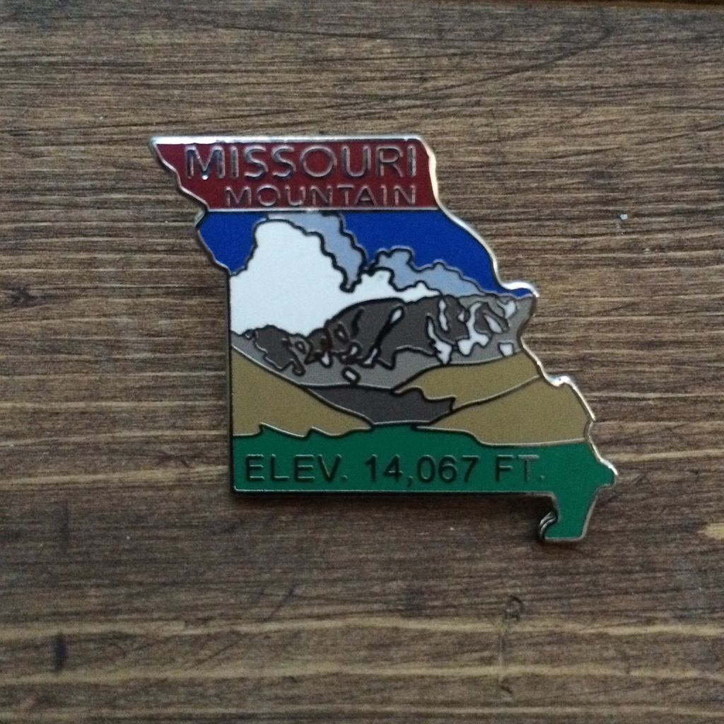 TOPP Missouri Mountain Pin