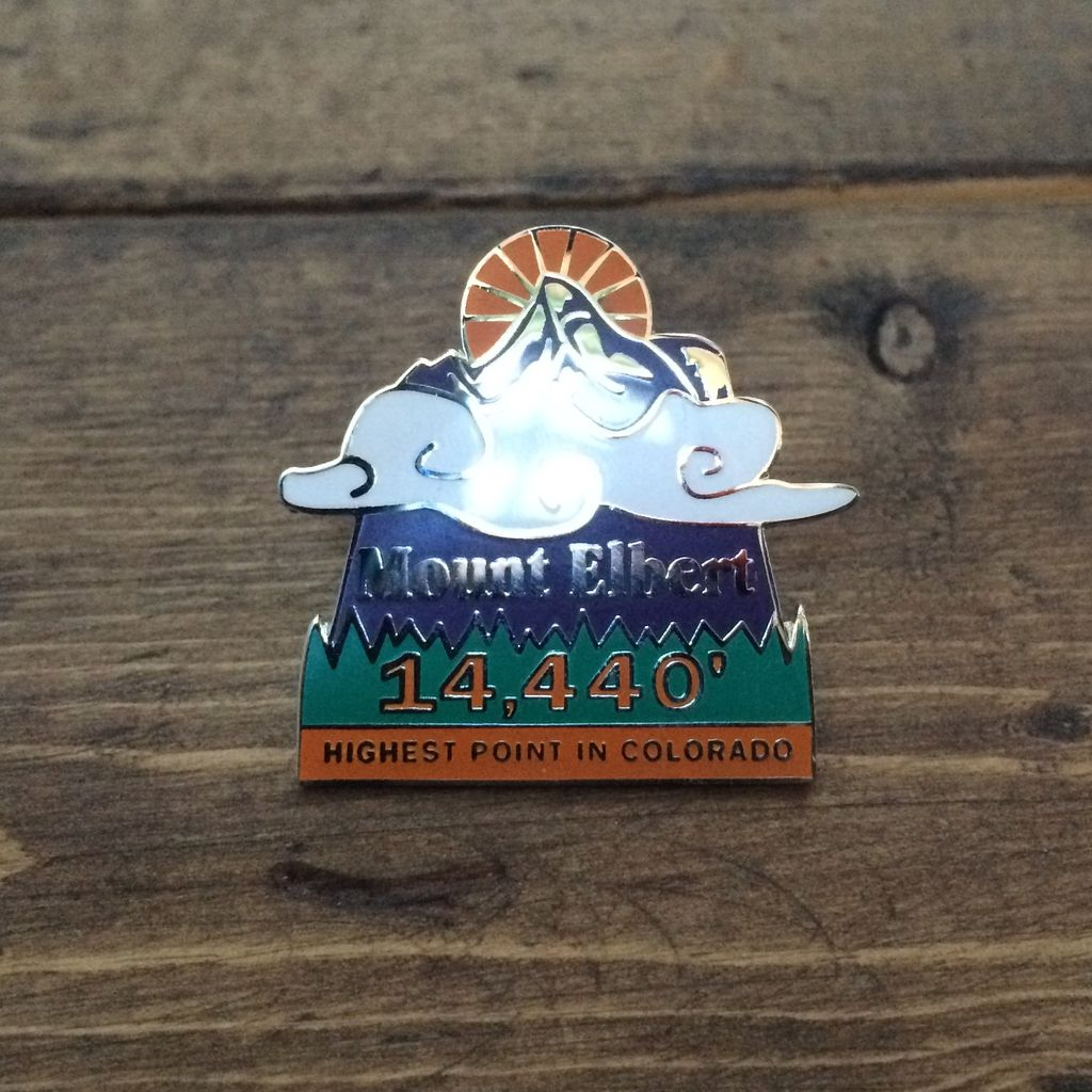 TOPP Mount Elbert Pin
