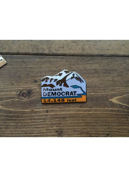 TOPP Mount Democrat Pin