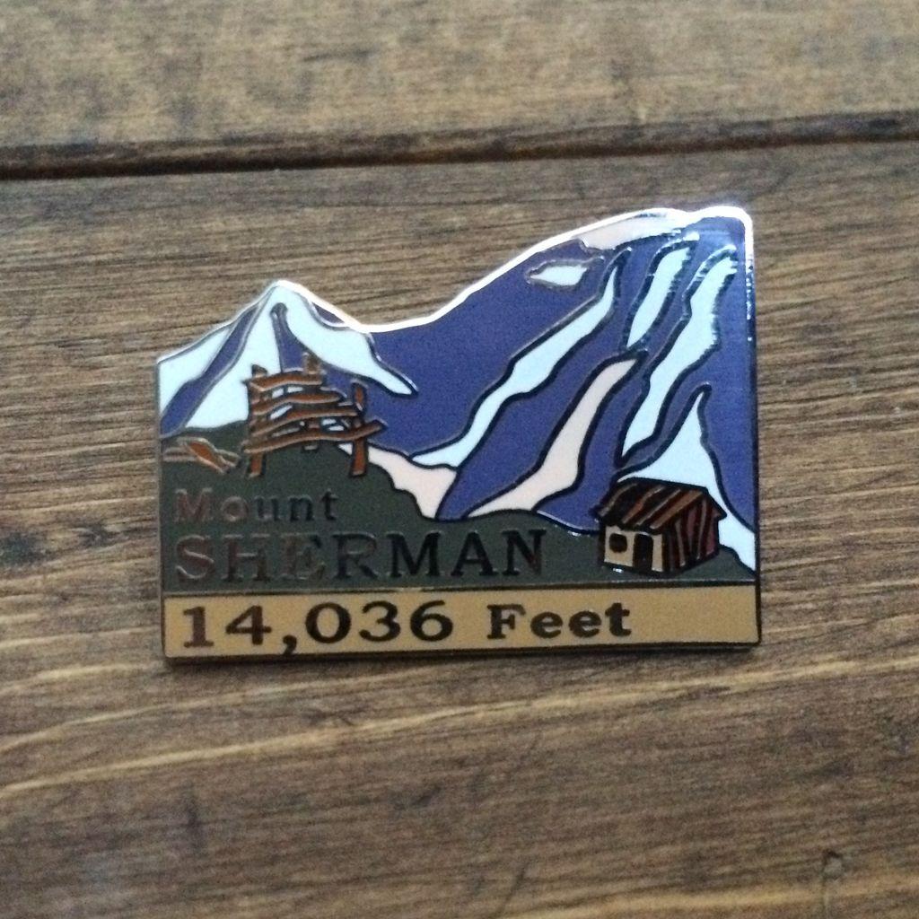 TOPP Mount Sherman Pin