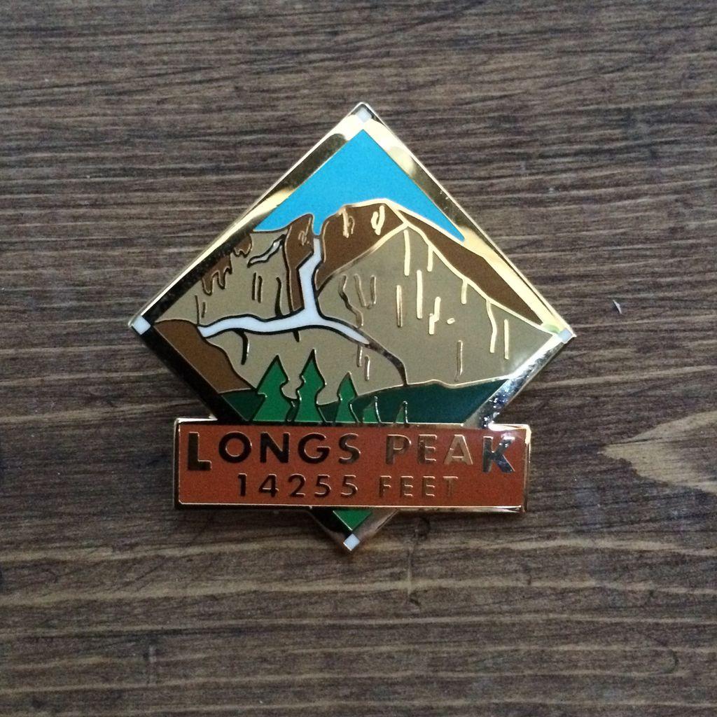 TOPP Longs Peak Pin