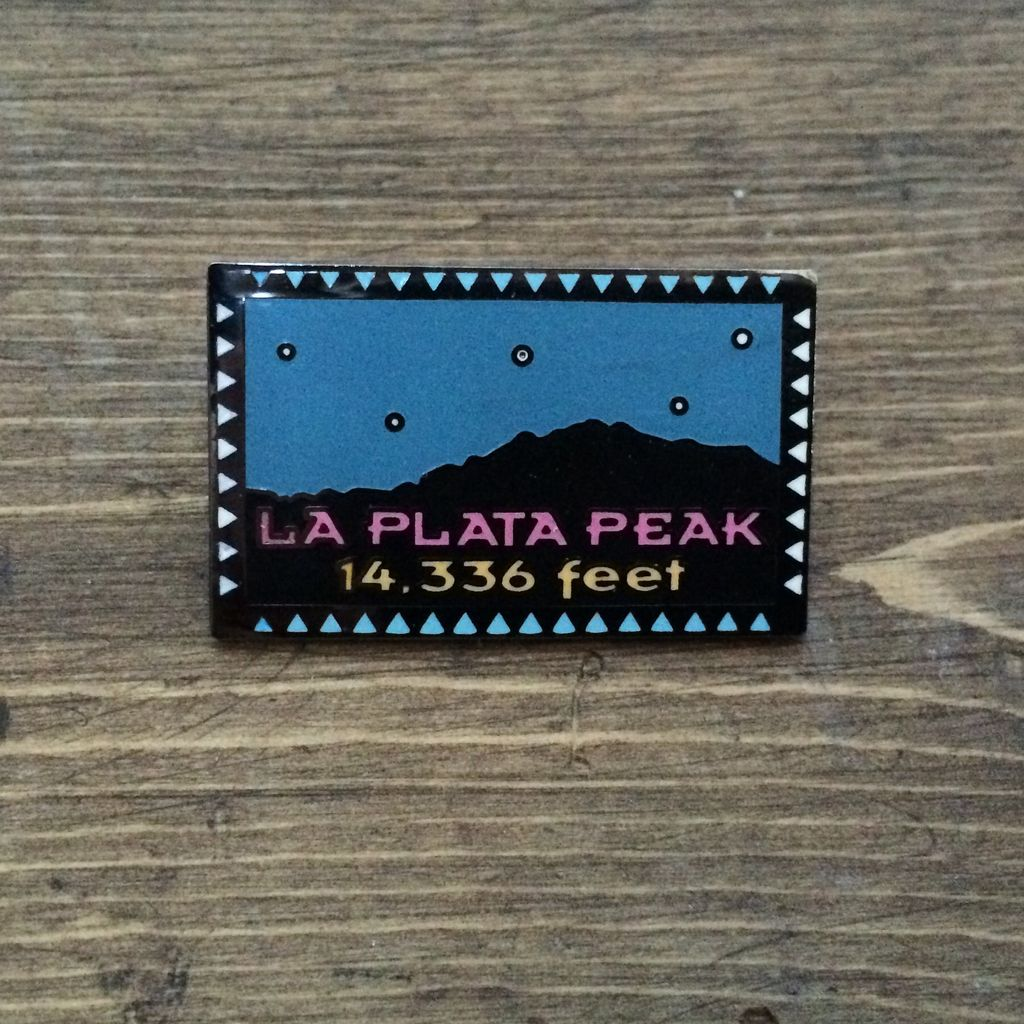 TOPP La Plata Peak Pin