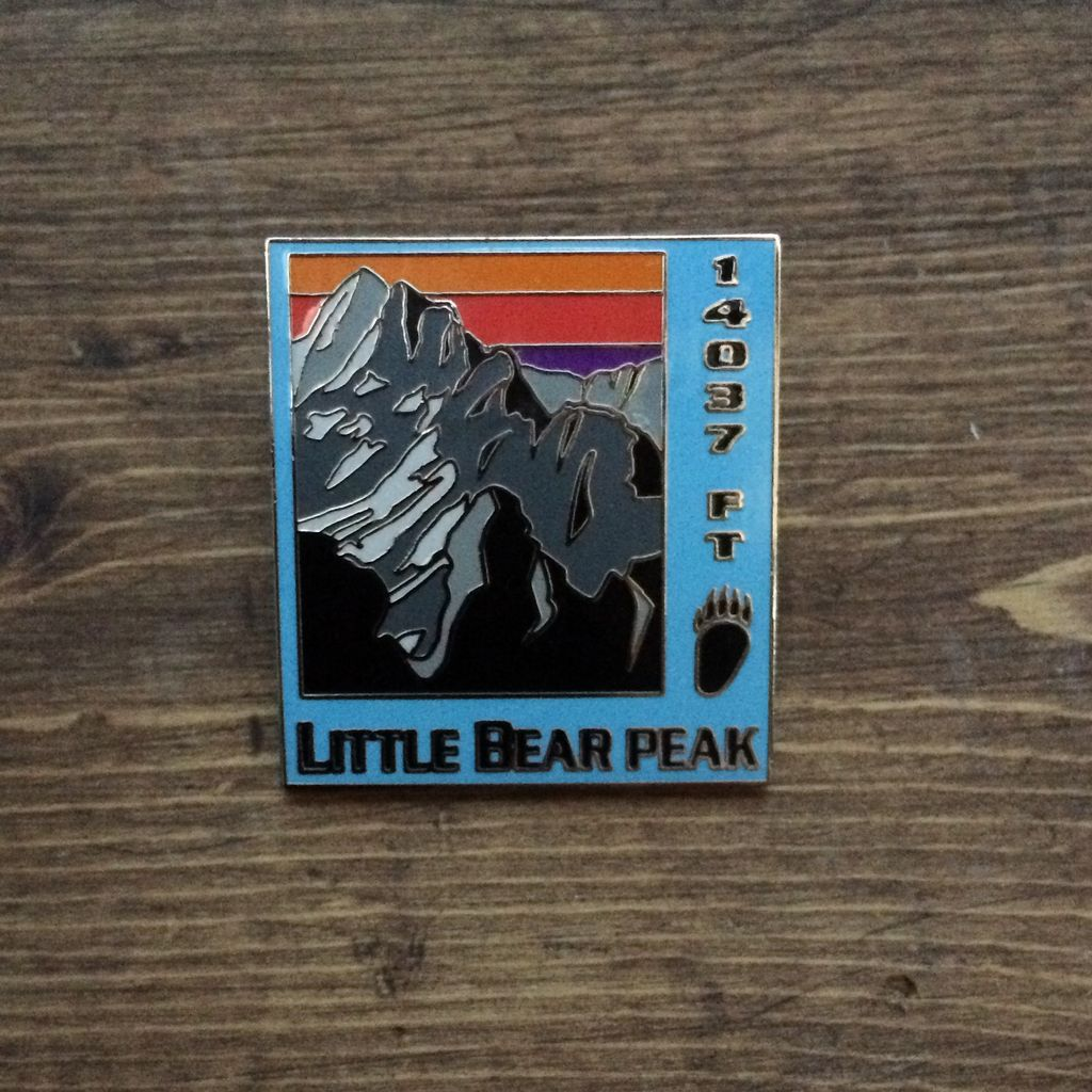 TOPP Little Bear Peak Pin