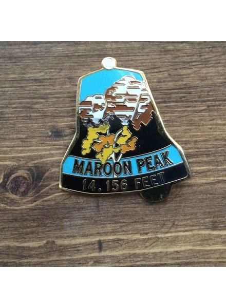 TOPP Maroon Peak Pin