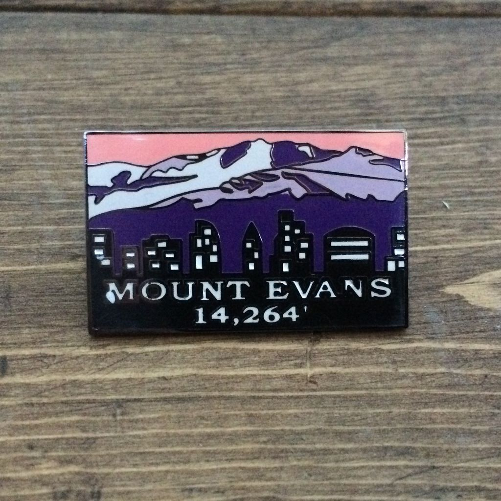TOPP Mount Evans Pin