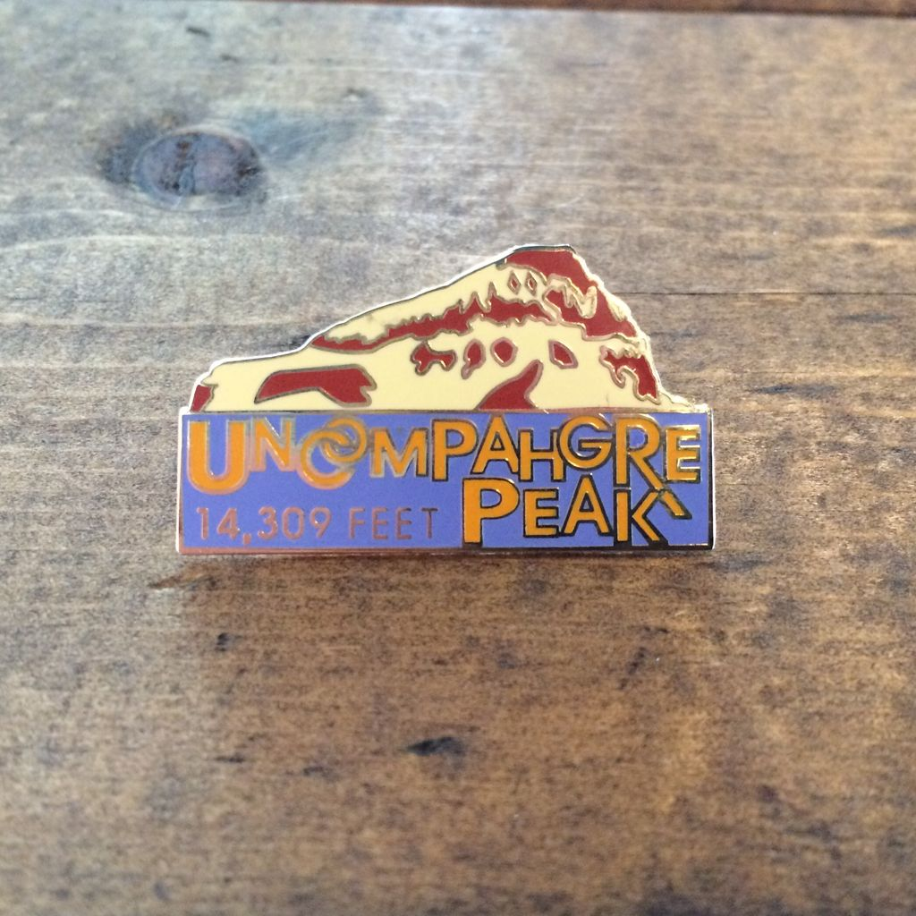 TOPP Uncompahgre Peak Pin