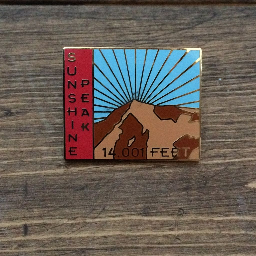 TOPP Sunshine Peak Pin