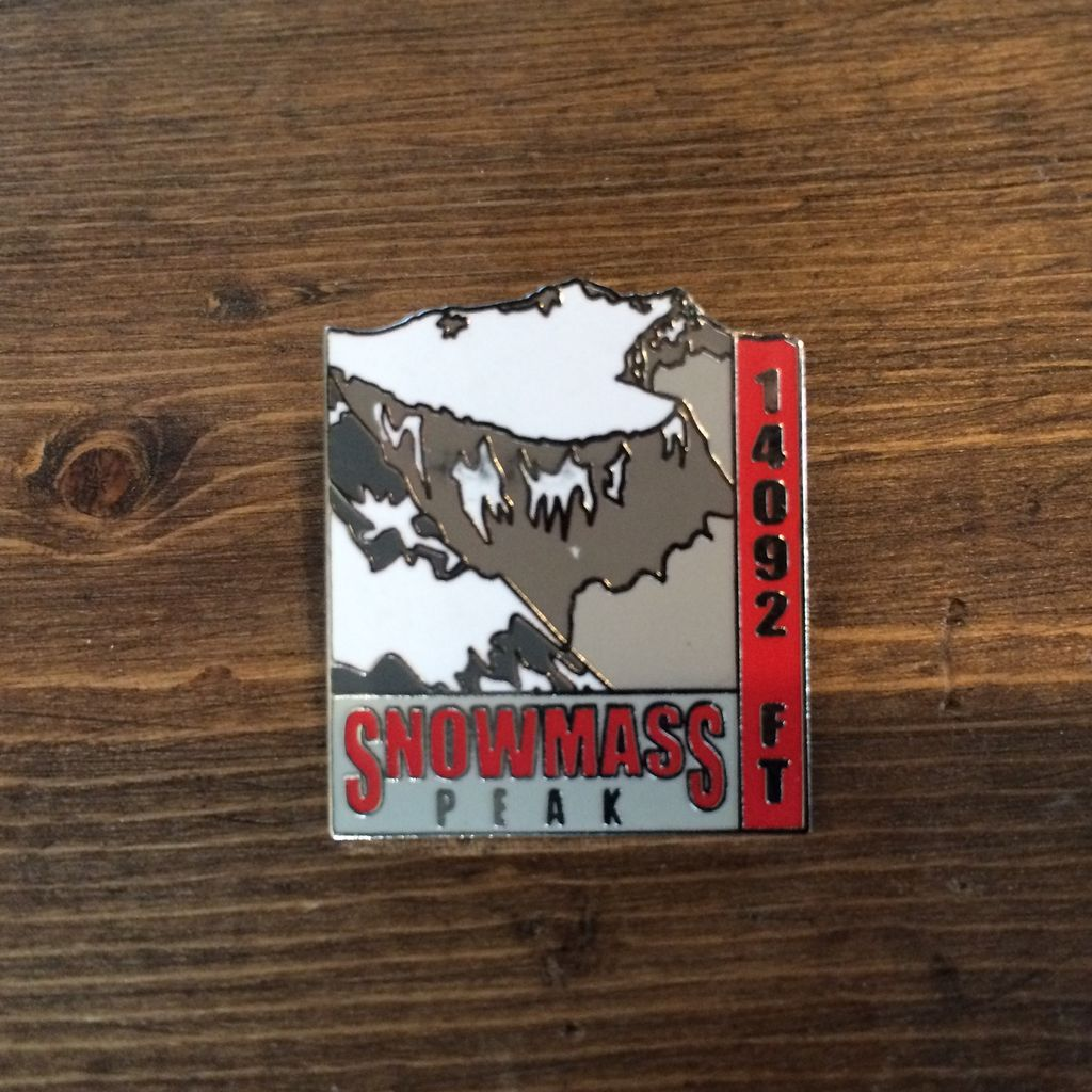 TOPP Snowmass Mountain Pin