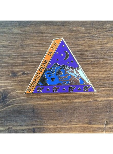 TOPP Pyramid Peak Pin