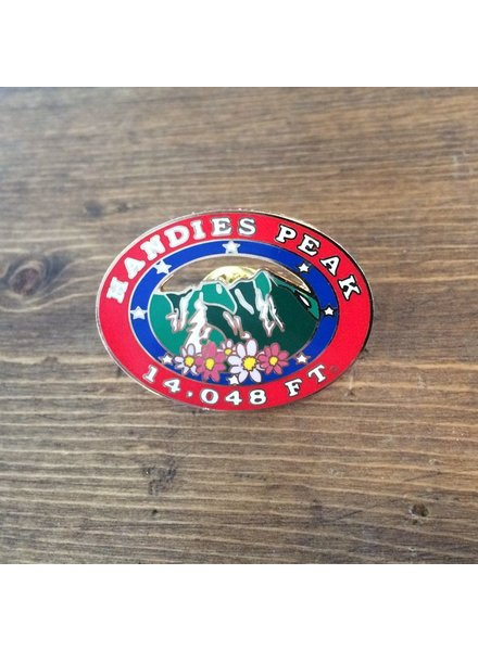 TOPP Handies Peak Pin