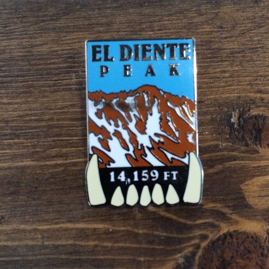 TOPP El Diente Peak Pin
