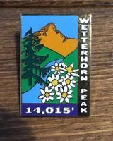 TOPP Wetterhorn Peak Pin