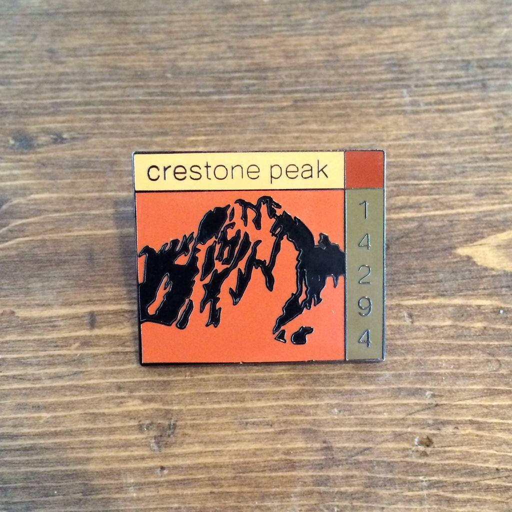 TOPP Crestone Peak Pin