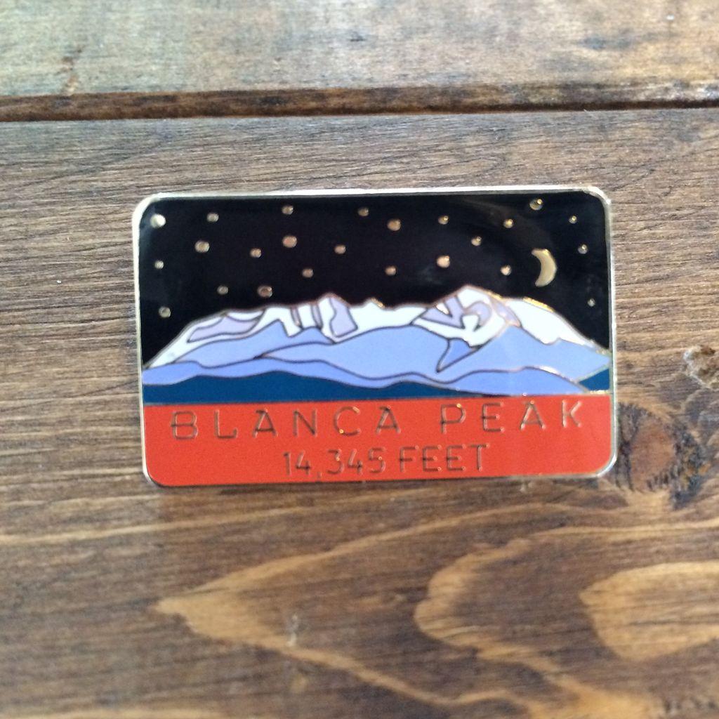 TOPP Blanca Peak Pin